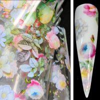 Flower Transfer Foil Design 12