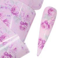 Flower Transfer Foil Design 8