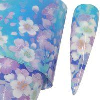 Flower Transfer Foil Design 9