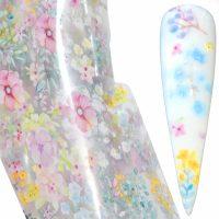 Flower Transfer Foil Design 13