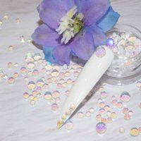 Aurora Magic Mermaid Transparent Crystal Beads Colour 1