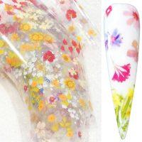 Flower Transfer Foil Design 16