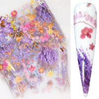 Flower Transfer Foil Design 17