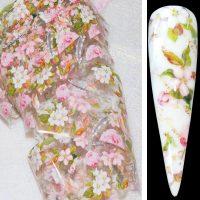 Flower Transfer Foil Design 18