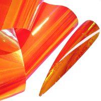 Aurora Orange Gold Angel Paper
