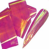 Aurora Pink Gold Green Angel Paper
