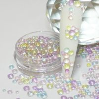 Aurora Rainbow Caviar Beads