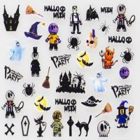 Design 127 Halloween Stickers