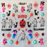 Design 128 Halloween Stickers