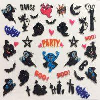 Design 130 Halloween Stickers