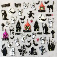 Design 138 Halloween Stickers