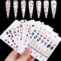Poker Playing Card Stickers