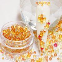 Topaz Caviar Beads