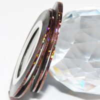 Chocolate Holographic Striping Tape 1mm