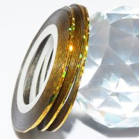 Gold Holographic Striping Tape 1mm