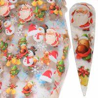 Christmas Nail Transfer Foil Design 20