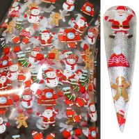 Christmas Nail Transfer Foil Design 13