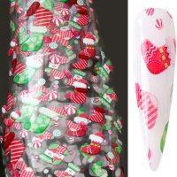 Christmas Nail Transfer Foil Design 14