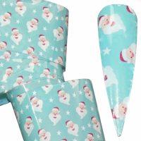 Christmas Nail Transfer Foil Design 17