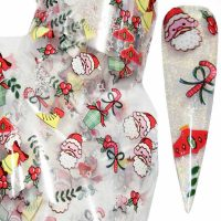 Christmas Nail Transfer Foil Design 22