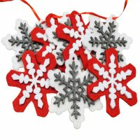 Snowflake Felt Garland MAIN